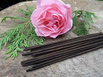 Natural Rose Incense Sticks