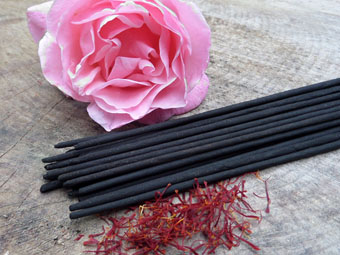 Absolute Rose & Saffron Incense